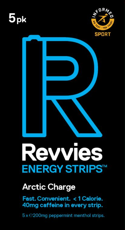 Revvies Energy Strips Arctic Charge (10 x 5 Pack)