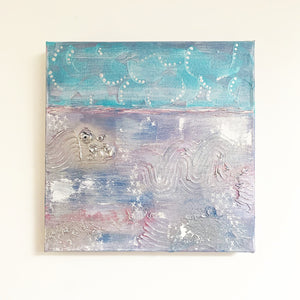 Plastic on Whitstable (2/3) - Abstract Painting Trio