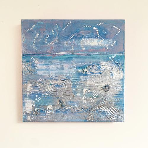 Plastic on Whitstable (3/3) - Abstract Painting Trio
