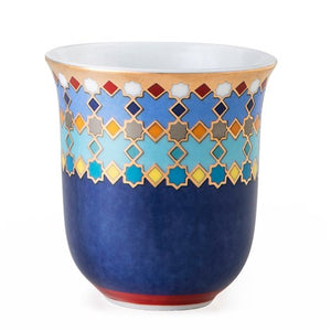 Sursock Vitral | Tin Box with 2 Porcelain Espresso Cups