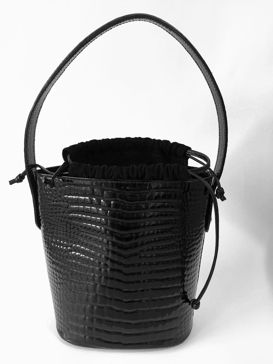 Black | Bucket Bag