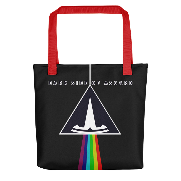 DARK SIDE OF ASGARD - Bolso Tote Negro