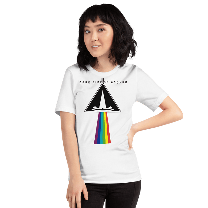 DARK SIDE OF ASGARD - Camiseta Clara para Mujer - Asgard