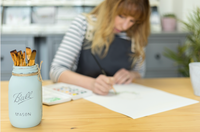 Julia Eastwood Illustrating in Yorkshire Studio