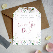 Load image into Gallery viewer, Spring wedding 'Save the date' cards