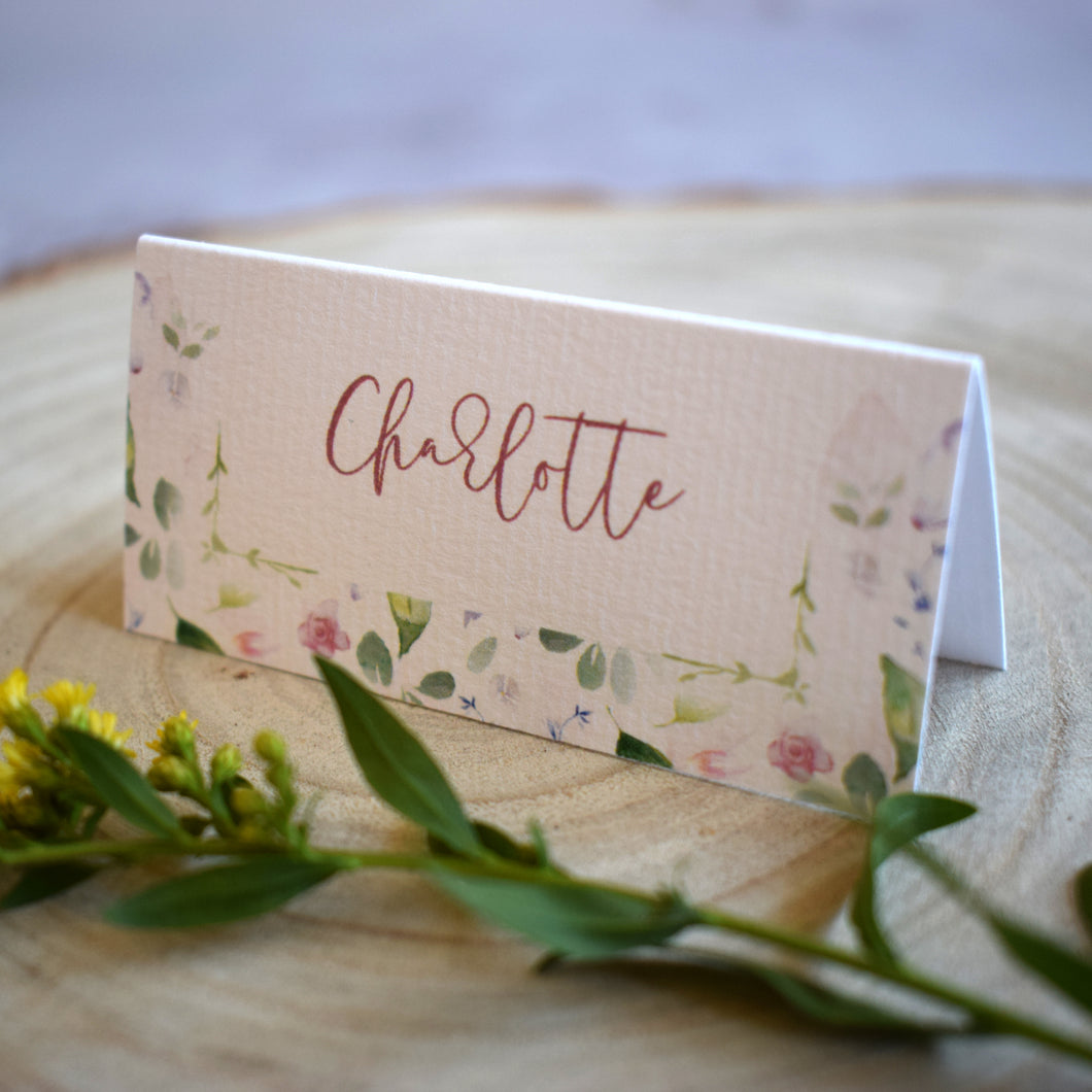 Confetti Place Cards