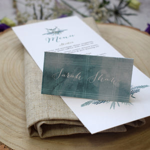 Highland Winter Place Cards
