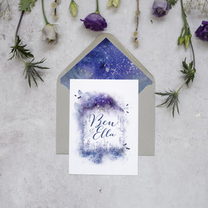 Magical Flat Invitation