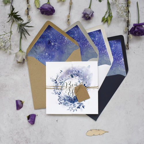 Magical Gatefold Invitation