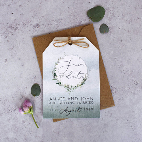 Enchanted Woodland Save the Dates