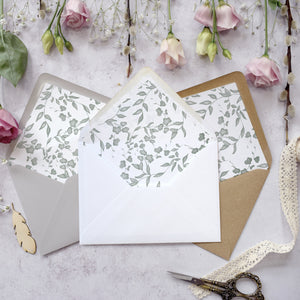 Secret Garden Flat Invitation