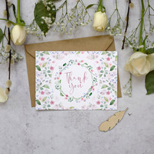 Load image into Gallery viewer, 'Confetti' wedding thank you postcards