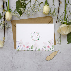 Personalised Photo Confetti Thank You Cards