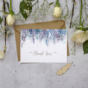 Whimsical Winter Thank You Postcards