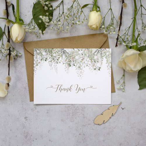 Whimsical Windsor Thank You Postcards