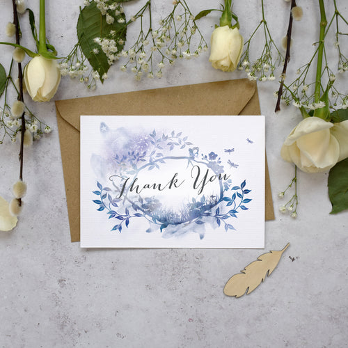 Magical Thank You Postcards