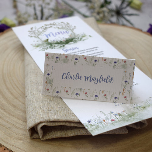 Wildflower Place Cards