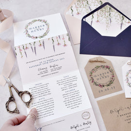'Whisper Wreath' Wedding Stationery Suite