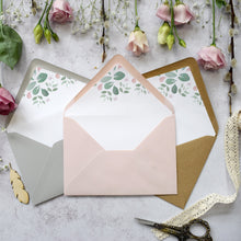 Load image into Gallery viewer, Fairytale Blossom Concertina Invitation