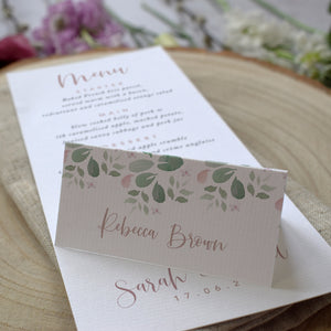 Fairytale Blossom Place Cards