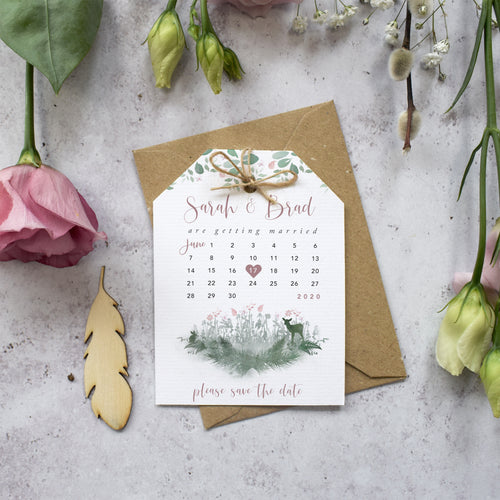 Fairytale Blossom Save the Dates