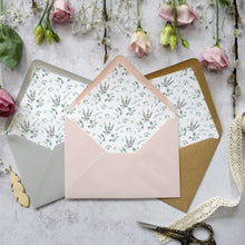 Load image into Gallery viewer, Foliage Blush Concertina Invitation