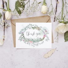 Load image into Gallery viewer, Personalised Photo Secret Garden Thank You Cards