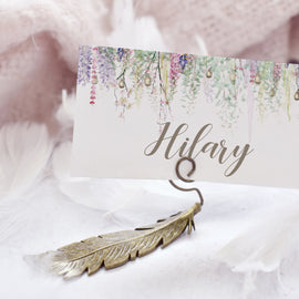 whimsical wedding place setting wedding place cards