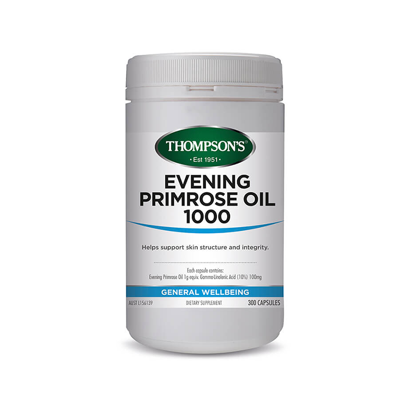 Thompson's Evening Primose Oil 1000mg 300s