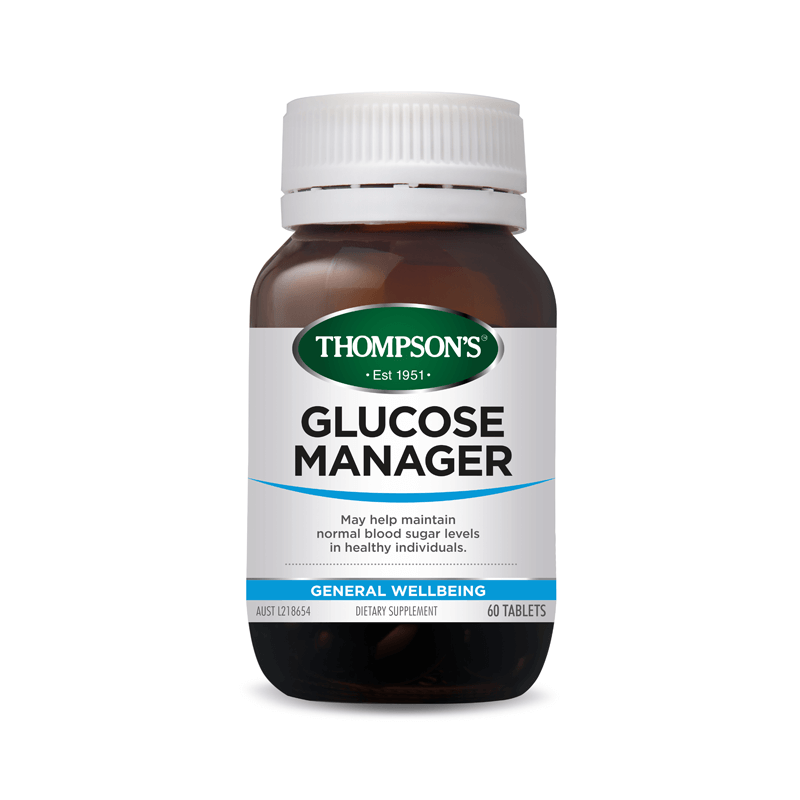 Thompson's Glucose Manager 60tabs