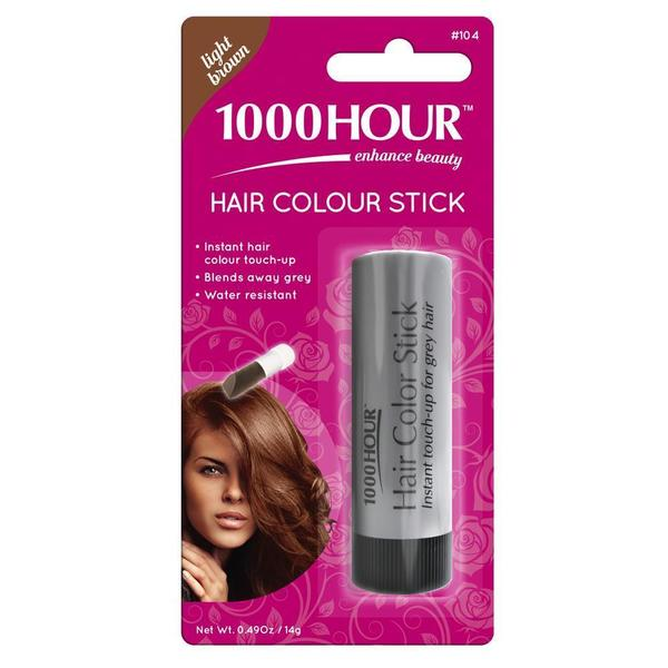 1000 Hour Hair Colour Stick Light Brown