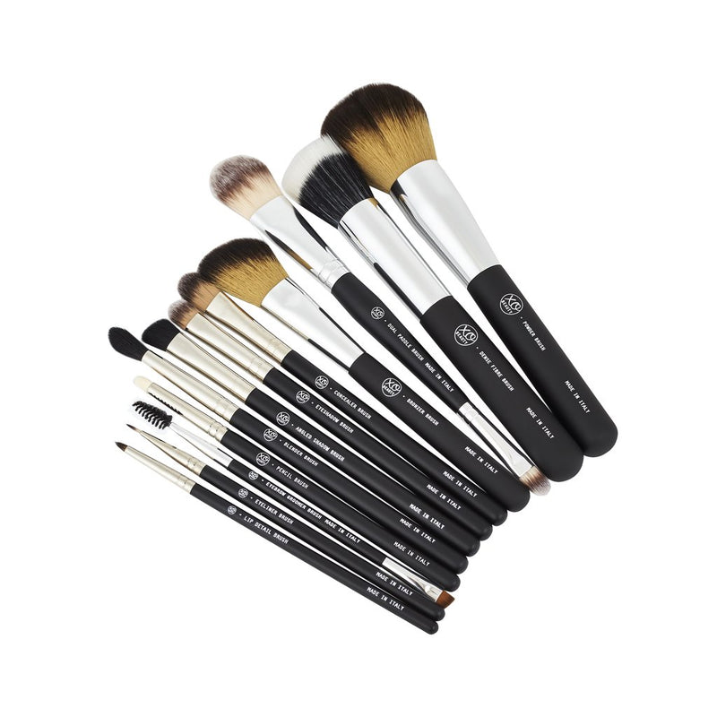 XOBEAUTY 12 Piece Essential Brush Set