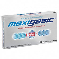 MAXIGESIC Tablets 500mg 10s