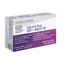 PH Cold&Flu Day&Night PE 24tab