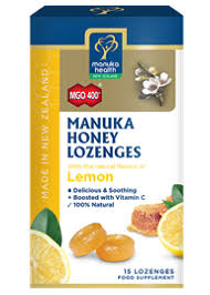 MH M/Honey Loz. Lemon 15pk
