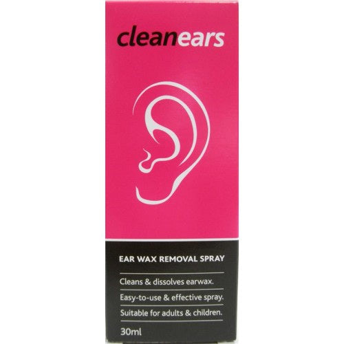 CLEAN EARS Ear Wax Removal Spray 30ml