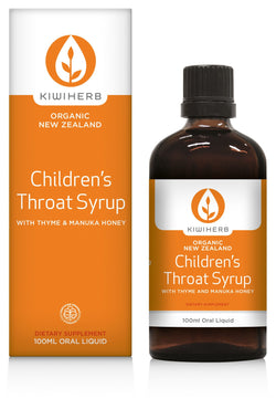 KIWI HERB Child Throat Syrup 100ml
