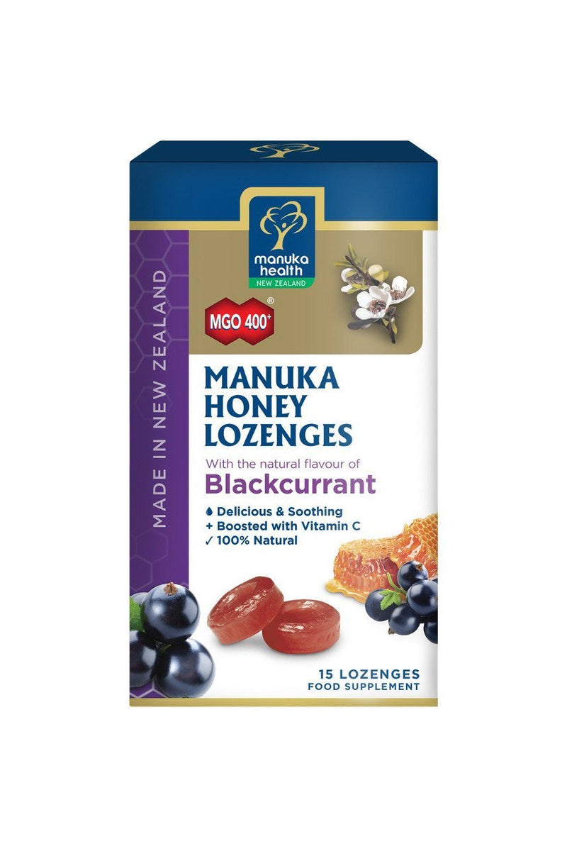 MH M/Honey Loz. Blackcurrant 15pk