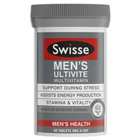 SWISSE Men's Ultivite 60 Tablets
