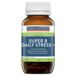 Ethical Nutrients Super B Daily Stress+ 60tabs