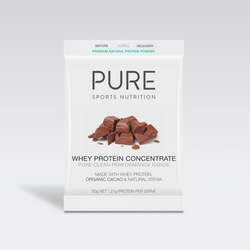 Pure Whey Concentrate Cacao Single