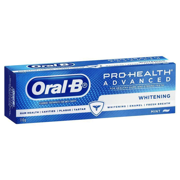 ORAL B Advanced Whitening Toothpaste 110g