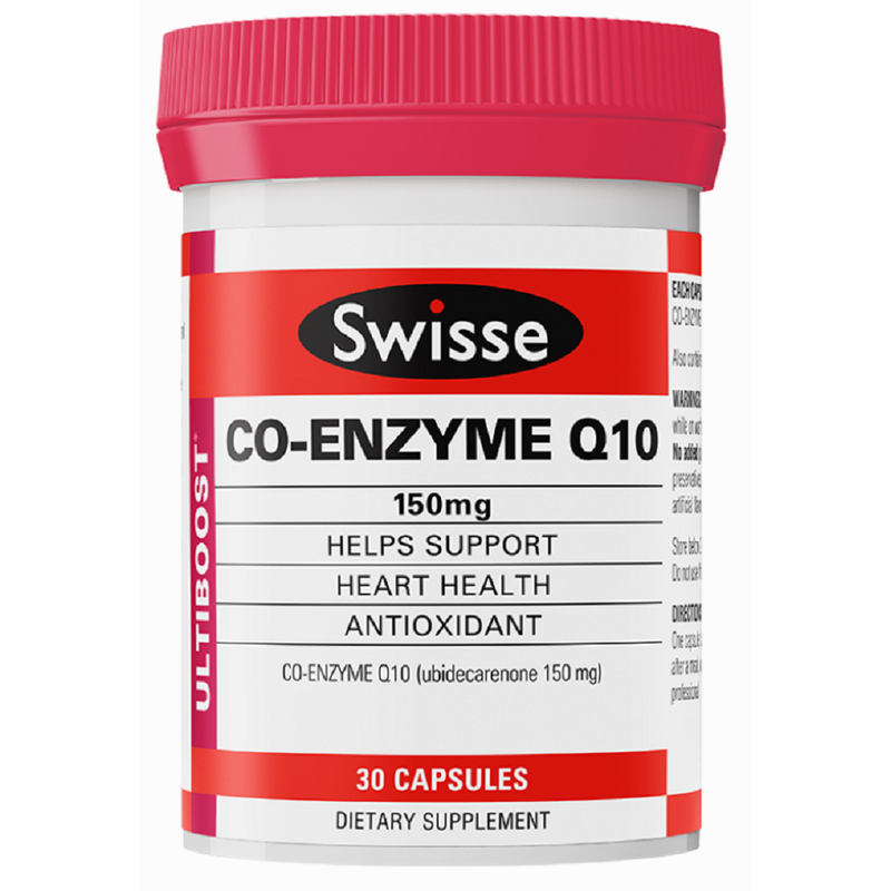 SWISSE UB Co Enzyme Q10 150mg 30cap
