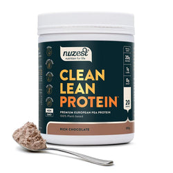 NUZEST Clean Lean Protein Powder Rich Chocolate 500g