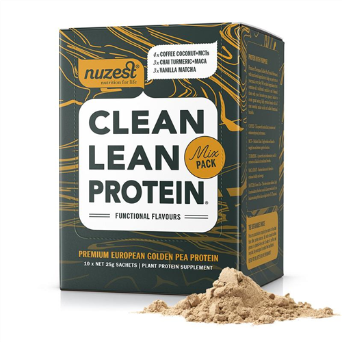 NuZest Mix Pack 10x Sachet Box