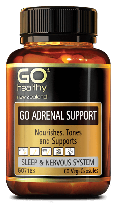 GO Adrenal Support 60vcaps