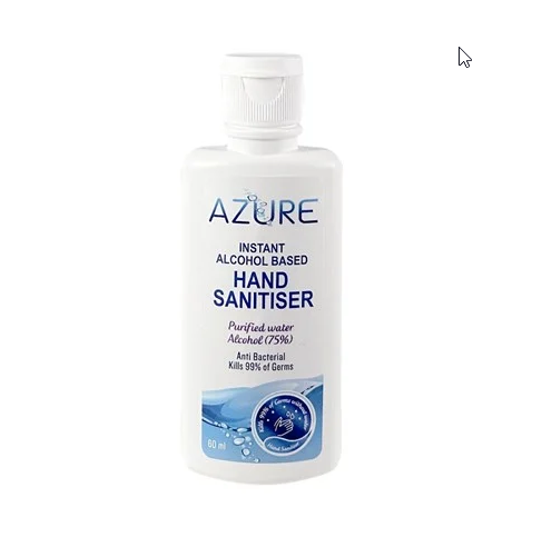 AZURE Hand Sanitiser 60ml