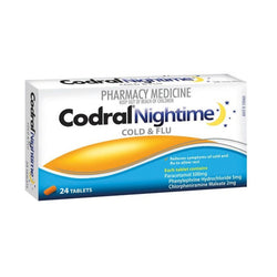 CODRAL Nightime Tablets 24s