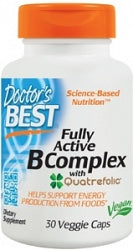 DRs BEST F/Act. B Complex 75mg 30c