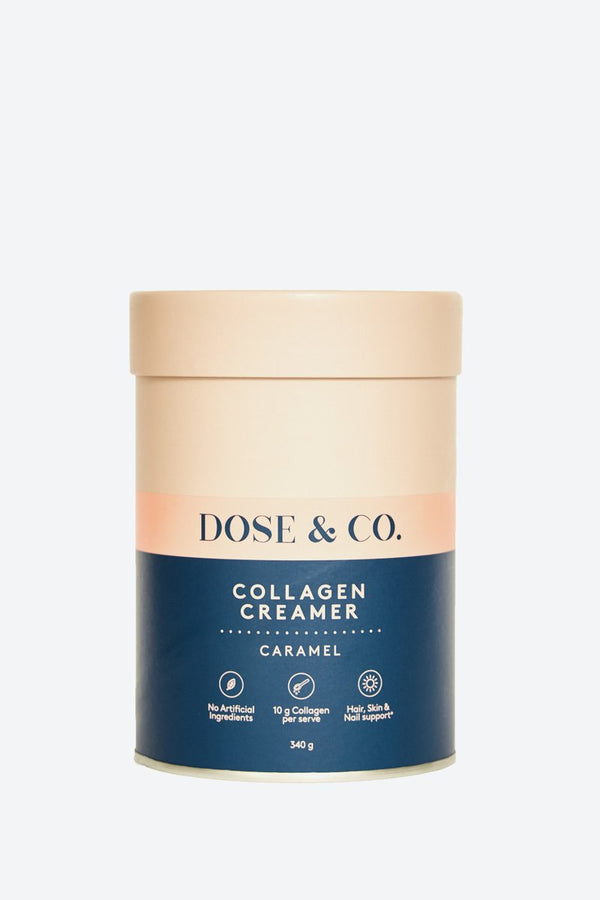 Dose & Co Collagen Creamer Caramel 340g